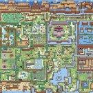 The Legend Of Zelda Overworld Map 24x18 Print Poster