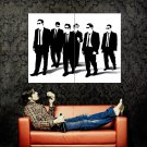Reservoir Dogs Silhouette Quentin Tarantino Movie Huge 47x35 Print POSTER