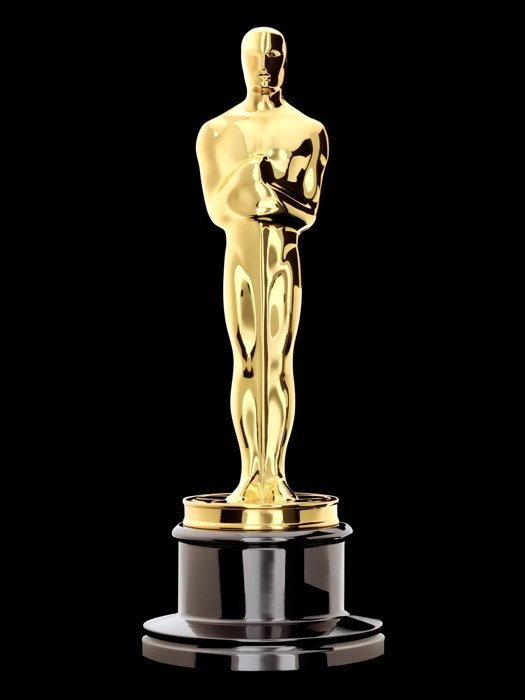 Oscar Statuette Academy Award Movie 32x24 Print POSTER