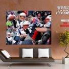 Tom Brady New England Patriots Nfl Football Sport Huge Giant Poster