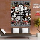 Sleeping Dogs Cover Art Video Game HUGE GIANT Print Poster