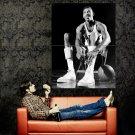 Wilt Chamberlain BW Retro Vintage NBA Basketball Huge 47x35 POSTER