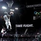 Kobe Bryant Dunk Olympic USA Team 16x12 Print Poster