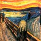 The Scream Edvard Munch Drawing Art 32x24 Print Poster