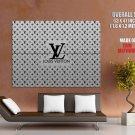Louis Vuitton Brand Logo Huge Giant Print Poster