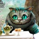 Cheshire Cat Alice In Wonderland 2010 16x12 Print POSTER