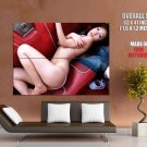 Hot Asian Girl Sexy Body Lingerie Huge Giant Print Poster