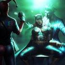 Hot Batgirl Tied Joker Cool Art 32x24 Print Poster