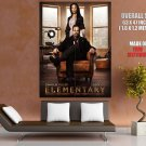 Elementary Cast Characters TV Series HUGE GIANT Print Poster