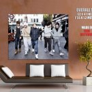 One Direction Boy Band Music Huge Giant Print Poster