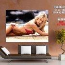 Anna Kournikova Sexy Hot Bikini HUGE GIANT Print Poster