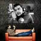 Ernesto Che Guevara BW Cuba Huge 47x35 Print Poster