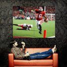 Russell Wilson Seattle Seahawks NFL Sport Huge 47x35 Print Poster