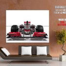 Mc Laren Formula 1 One Front Racing Car Sport Huge Giant Print Poster