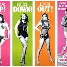 James Bond Thunderball Girls Sean Connery Movie 24x18 Print POSTER