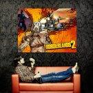 Psycho Borderlands 2 Video Game Huge 47x35 Print Poster