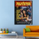 Pulp Fiction Movie Thriller Comedy Uma Thurman Huge 47x35 Print POSTER