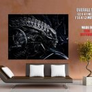 Alien Head H R Giger Abstract Art Huge Giant Print Poster