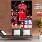 Michael Jordan 45 Jersey Rare Chicago Bulls Nba Basketball Huge Giant Poster