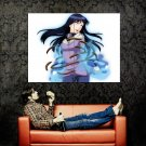 Naruto Hyuuga Hinata Anime Manga Art Huge 47x35 Print Poster