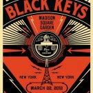 Shepard Fairey Black Keys New York R 24x18 Print POSTER