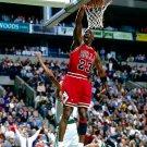 Michale Jordan Dunk Chicago Bulls NBA 32x24 Print POSTER