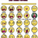 Smiley Faces Lulz Funny Emotions Art 32x24 Print Poster