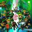 The Legend Of Zelda 25th Anniversary 32x24 Print POSTER