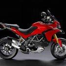 Ducati Multistrada Dual Sport Bike Motorcycle 16x12 Print POSTER