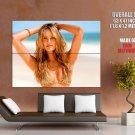 Candice Swanepoel Golden Blonde Bikini Huge Giant Print Poster