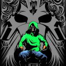 Mf Doom Hip Hop Rap Art Music 16x12 Print Poster