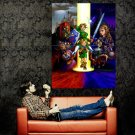 Legend Of Zelda Ocarina Time Art Huge 47x35 Print POSTER