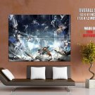 Jedi Force Stormtroopers Star Wars Huge Giant Print Poster