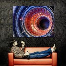 The Large Hadron Collider Hi Tech Huge 47x35 Print Poster