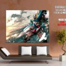 Gundam Mobile Suit Anime Manga Art Huge Giant Print Poster