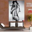 Jennifer Aniston Hot Actress Sexy Boobs BW HUGE GIANT Print Poster