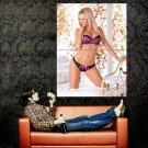 Sara Jean Underwood Sexy Lingerie Model Huge 47x35 Print Poster
