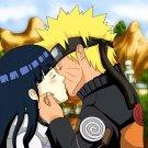 Naruto Hinata Kissing Anime Manga Art 16x12 Print POSTER