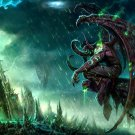 World Of Warcraft WoW Illidan Art 16x12 Print POSTER