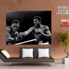 Muhammad Ali Thrilla In Manila Joe Frazier Huge Giant Print Poster