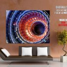 The Large Hadron Collider Hi Tech HUGE GIANT Print Poster