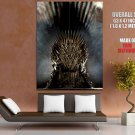Game Of Thrones Iron Throne TV Series HUGE GIANT Print Poster