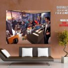 Grand Theft Auto Characters Gta Art Huge Giant Print Poster