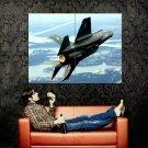 Lockheed Martin F 35 Lightning II Military Aicraft Huge 47x35 Print POSTER