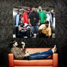 Wu Tang Clan Members Hip Hop Rap Huge 47x35 Print POSTER