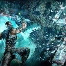Sub Zero Mortal Kombat 9 Fatality Art 32x24 Print POSTER