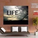 Life Lou Holtz Motivational Inspirational Huge Giant Print Poster