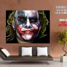 Why So Serious Joker Portrait Painting Art Huge Giant Print Poster
