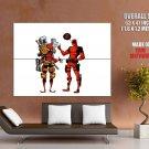 Marvel Comics Spider Man Deadpool Cool Art Huge Giant Print Poster