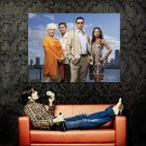 Burn Notice Cast TV Series Huge 47x35 Print Poster
